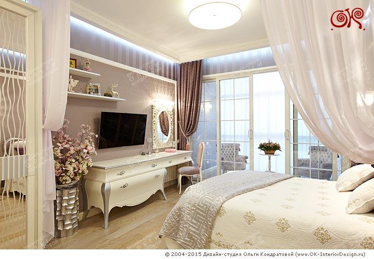 Красивый дизайн спальни в квартире