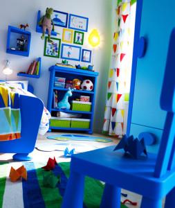 X Как обставить детскую комнату