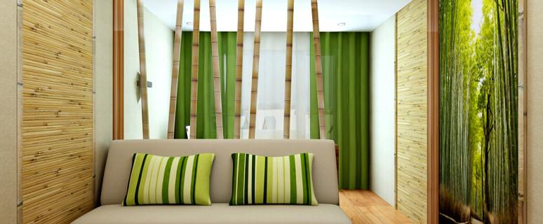 Бамбуковые обои для стен