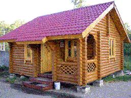 Дом на столбиках
