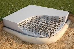 Фундамент в виде плиты