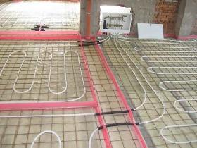Технология устройства теплого пола схема