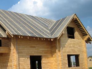 Крыша под рубероидом