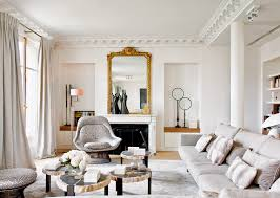 Французский стиль интерьера дома_